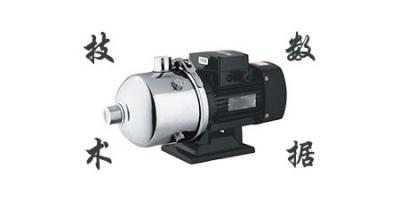 CHLF(T)不锈钢卧式多级离心泵  CHLF(T)20系列技术数据表