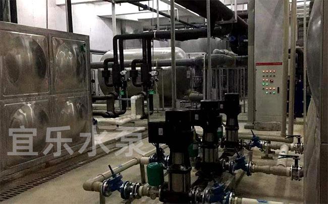 管道循环泵-重庆市梁平区体育中心游泳馆 (https://www.yilopump.cn/) 变频泵案例 第2张