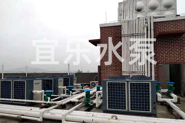 铸铁立式离心泵-重庆市资源与环境保护学院 (https://www.yilopump.cn/) 增压泵案例 第1张