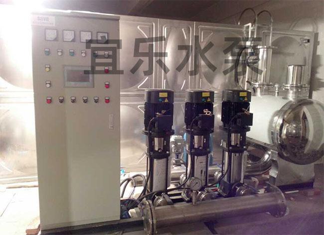 增压泵-重庆市黔江区凤凰湾小区二次供水设备 (https://www.yilopump.cn/) 增压泵案例 第1张