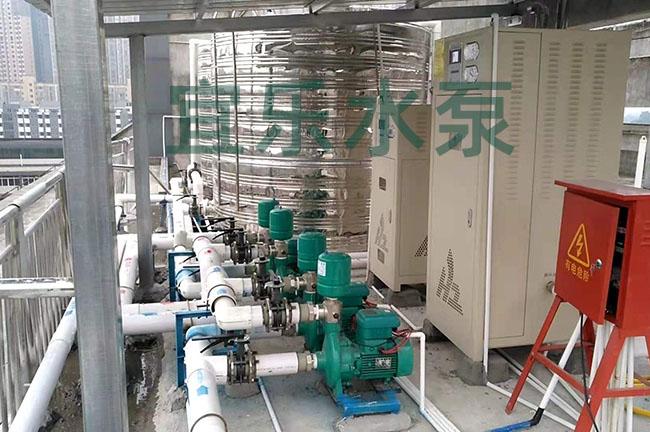 铸铁卧式离心泵-大足丽枫酒店 (https://www.yilopump.cn/) 变频泵案例 第1张