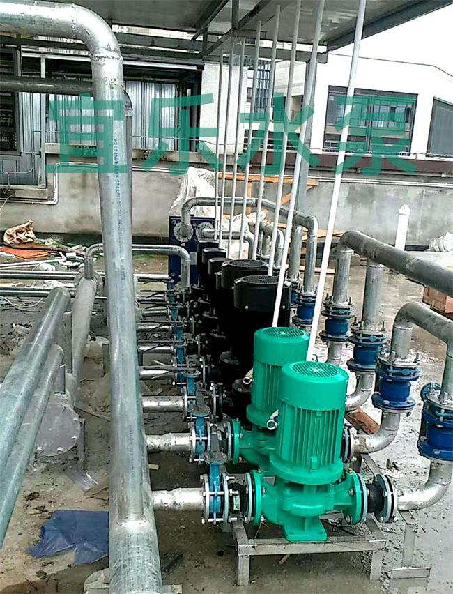 管道循环泵-重庆盘龙一号海派健身中心 (https://www.yilopump.cn/) 循环泵案例 第1张