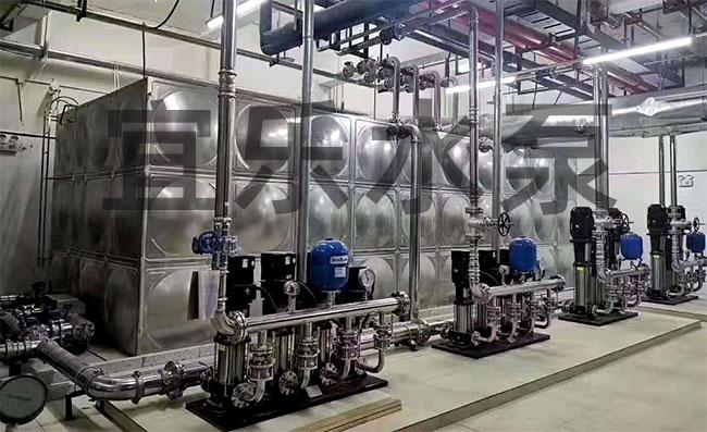 不锈钢立式多级离心泵-重庆峻尊•御景国际 (https://www.yilopump.cn/) 变频泵案例 第1张