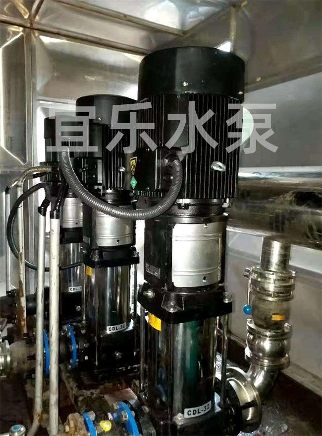 不锈钢立式多级离心泵-四川航天职业技术学院 (https://www.yilopump.cn/) 变频泵案例 第1张