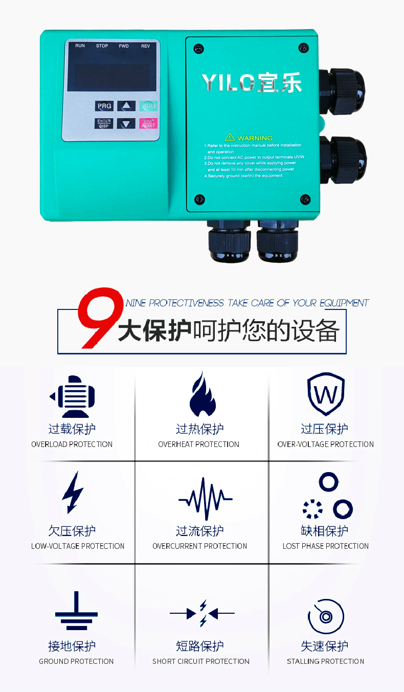 YZC变频器安装及调试 (https://www.yilopump.cn/) 水泵百科 第1张